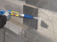 hydrogommage et sablage basse pression